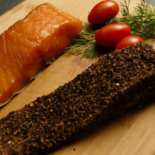 Applewood Smoked Salmon Pastrami